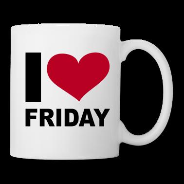 Weiss-I-LOVE-Friday---eushirt.com-Tassen